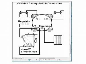 Wiring A Battery Switch - The Hull Truth