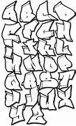 cool graffiti alphabet...