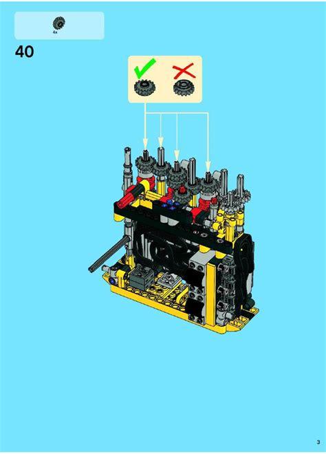 lego for lego excavator 8043 technic