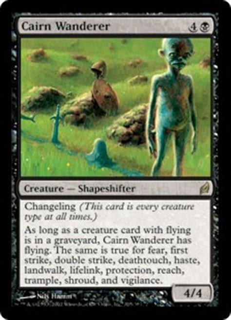 Mtg Deathtouch Trle Deck by Cairn Wanderer Lorwyn Gatherer Magic The Gathering