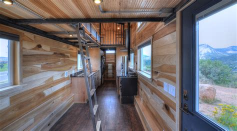house trailer this tiny house on wheels can fit a family of five