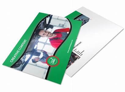 Change Oil Postcard Template Service Mycreativeshop Templates