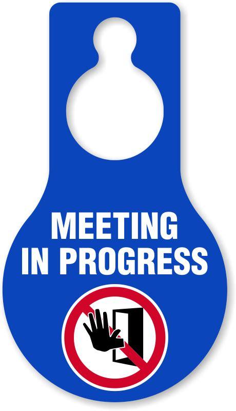 dont disturb template template for meeting in progress do not disturb door sign