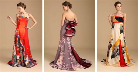 kimono wedding dress  features gowns   antique