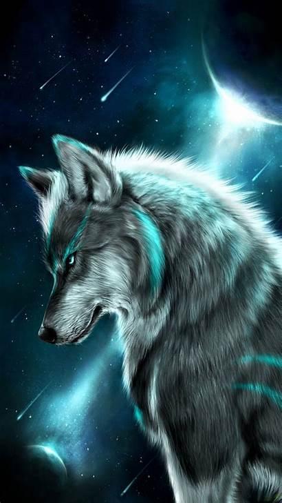 Wolf Tribal Painting Cross Diamond Round Stitch