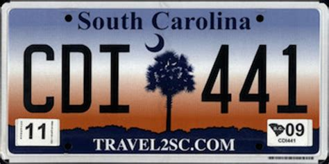 Vanity Plates Sc by The Official South Carolina State License Plate The Us50