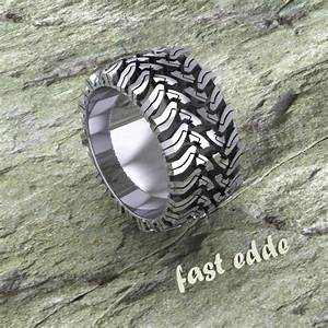 mud tire tread logo wwwimgkidcom the image kid has it With mens bogger wedding ring