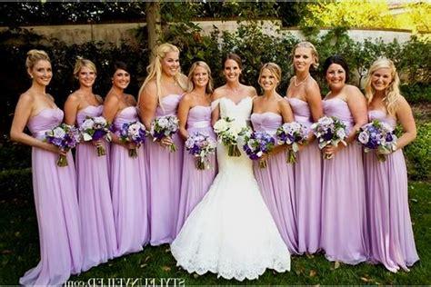 Pastel Purple Bridesmaid Dresses Naf Dresses