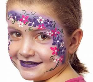 Modele Maquillage Carnaval Facile : couronne de fleurs grim 39 tout maquillage l 39 eau pour enfants ~ Melissatoandfro.com Idées de Décoration