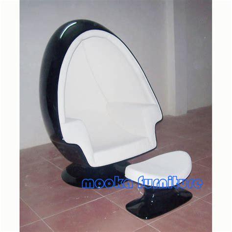 alpha egg chair ottoman w speaker mooka modern furniture