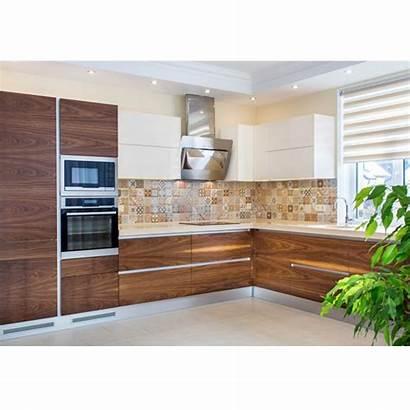 Veneer Cabinets Kitchen Finish Pr Timber Cabinet