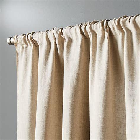 natural linen curtain panel  cb