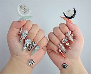 Ntna S  7 Challenge 2  Gemini And Aries Nail Art  Ally