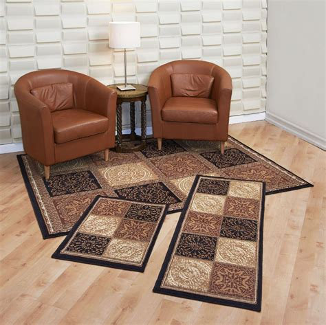 pc rug set rugs home mat runner entryway hallway