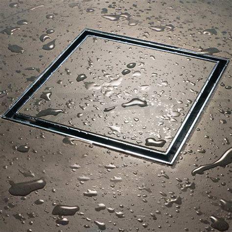 304 stainless steel shower grate tile insert drain square