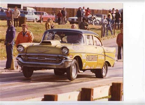 Photo 'gold Rush' 57 Chevy Gasser #1  57 Chevy Gassers