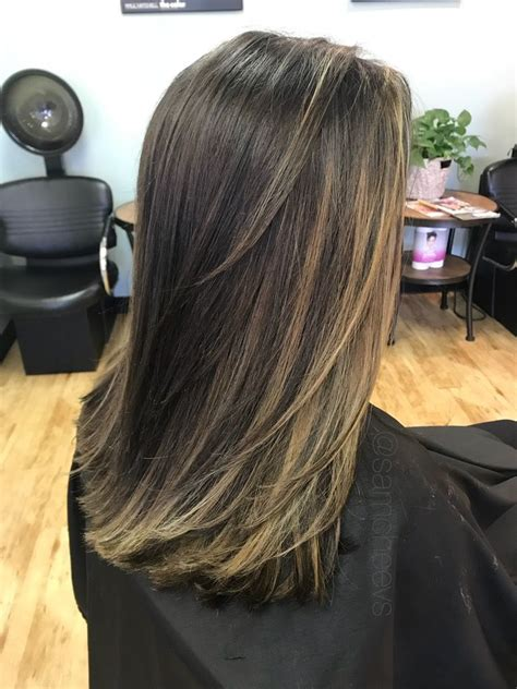 Espresso Hair Color With Caramel Highlights by Brown Espresso Hair Color With Caramel Honey