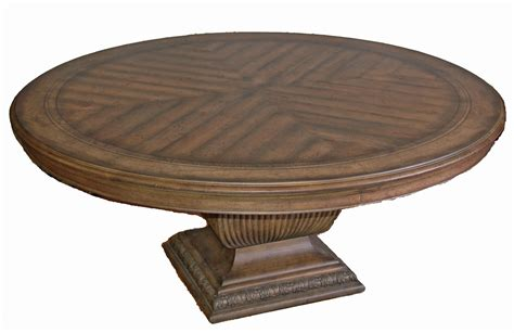 large round table large rustic round dining table decorating ideas for