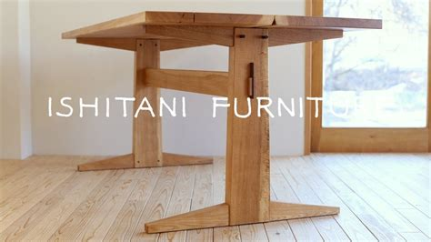 ishitani making  kigumi table woodworking plans