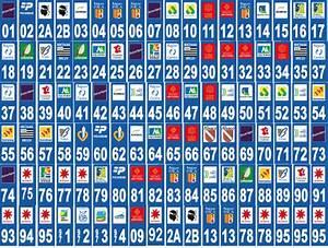 Immatriculation Europe : 2 stickers departement au choix pour plaque d immatriculation les news d 39 adhesif service ~ Gottalentnigeria.com Avis de Voitures