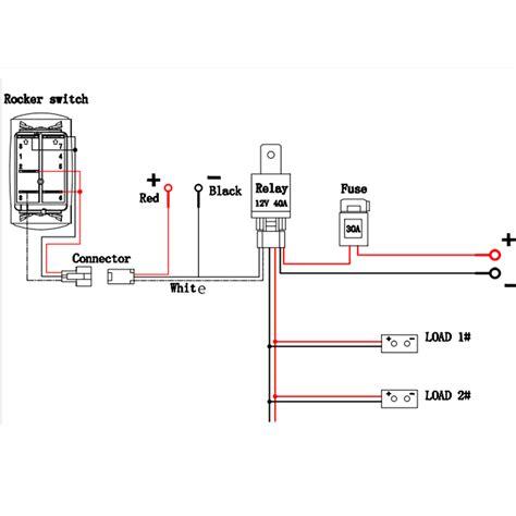 Led Fog Light Wiring Harness Laser Rocker Switch