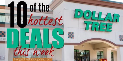 10 Of The Most Popular Deals At Dollar Tree This