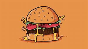 How To Draw A Hamburger Using Photoshop - Live Draw