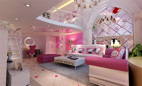 Dreamful Hello Kitty Room Designs For Girls Amazing