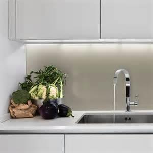 in der küche glaslösungen für die küche