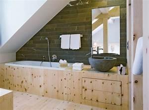 la vasque en pierre en 72 photos With meuble sous vasque design 13 petite salle de bains 47 idees inspirantes pour votre