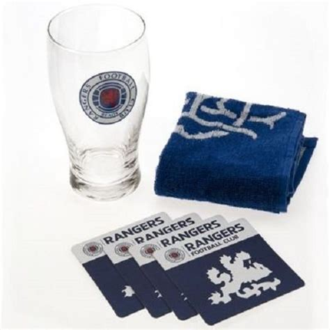 Official Licensed Football Product Glasgow Rangers Mini ...