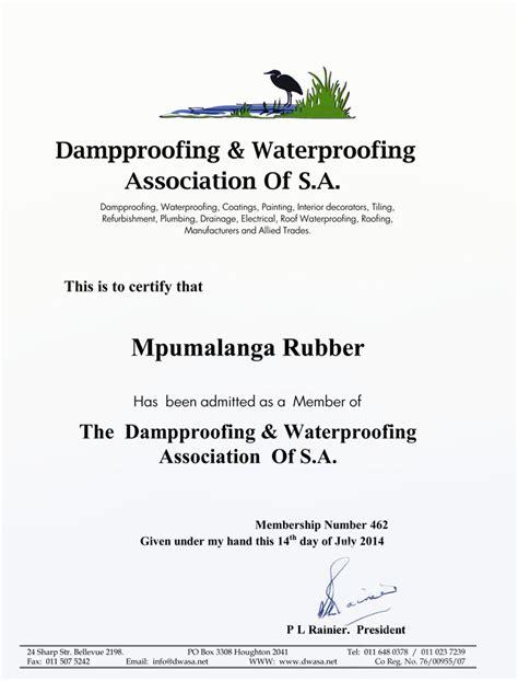 memberships associations waterproofing specialists
