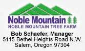 noble christmas mountain noble mountain tree farm