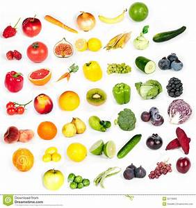 Rainbow Of Fruits And Vegetables Stock Photos - Image ...