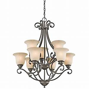 Kichler light up bronze chandelier lighting ideas for