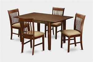 5 Piece kitchen nook dining set-small dining tables and 4