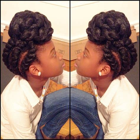 protective hairstyle. natural hairstyles   www
