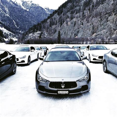 maserati snow the snow polo world cup st moritz 2016 with maserati