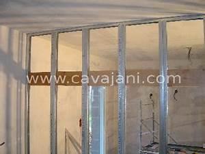 Poser Placo Mur Avec Rail : carrelage moderne faience listel escalier ~ Melissatoandfro.com Idées de Décoration