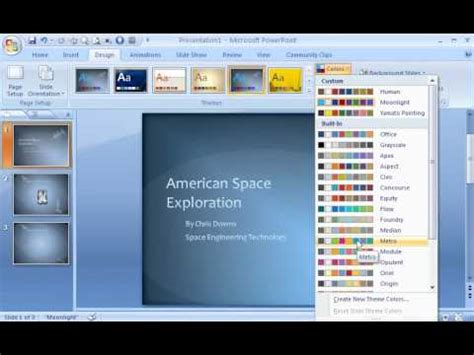 powerpoint  demo create  powerpoint template youtube