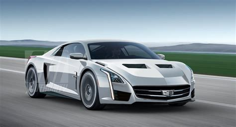 cadillac sports car 2020 cadillac mid engine supercar rendering gm authority