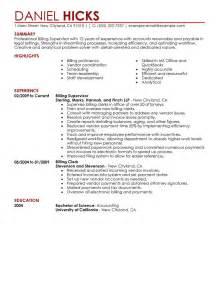 billing clerk resume best billing clerk resume exle livecareer