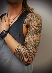 Tattoo Streifen Arm : 100 polynesian tattoo ideas and photos that are gorgeous ~ Frokenaadalensverden.com Haus und Dekorationen