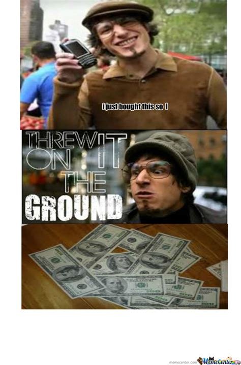 so i threw it on the ground by drakerc18 meme center