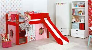 Hochbett Kinder Mit Rutsche : hochbett mit rutsche in z b rot kids town color ~ Indierocktalk.com Haus und Dekorationen