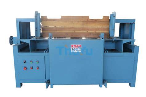 wood pallet stringer notching machinewood pallet grooving