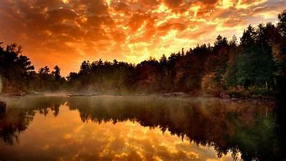 Desktop 1080p Nature Wallpapers Forest Autumn River