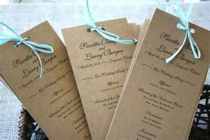 rustic recycled wedding programs sofia invitations blog With cheap wedding invitations recycled paper