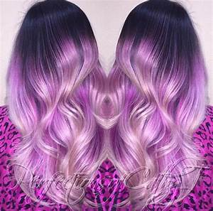 Gorgeous Pastel Purple Hairstyle Ideas: Balayage Hair ...