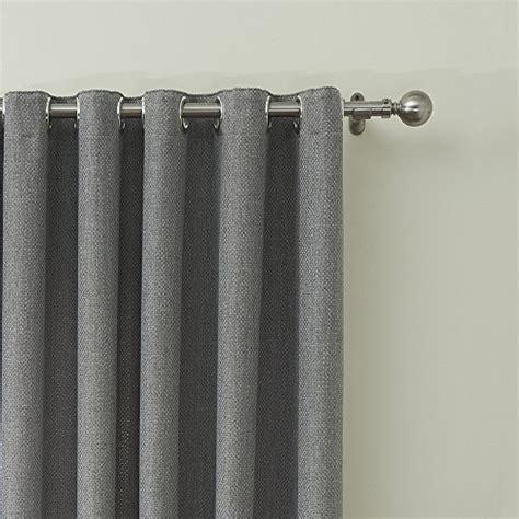 iyuego solid faux linen classic room darkening grommet top